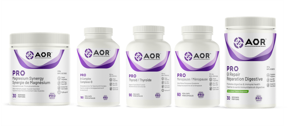 AOR Pro Canada Vitamins and Supplements