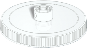 URO 4101 | Urinary Drainage Bottle Cap | InnerGood.ca | Canada
