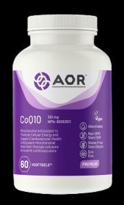 AOR CoQ10 | 60 VSoftgels | InnerGood.ca | Canada