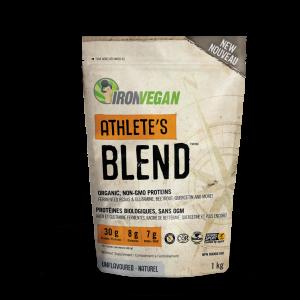 IronVegan™ Athlete's Blend™ - Unflavoured | InnerGood.ca