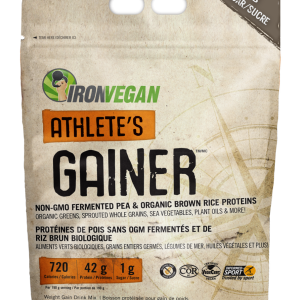 IronVegan™ Athlete's Gainer™ - Vanilla | InnerGood.ca