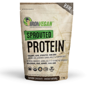 IronVegan™ Sprouted Protein - Chocolate   InnerGood.ca