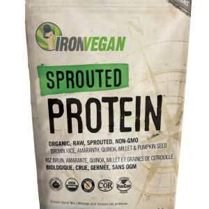 IronVegan™ Sprouted Protein - Unflavoured   InnerGood.ca