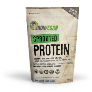 IronVegan™ Sprouted Protein - Unflavoured | InnerGood.ca
