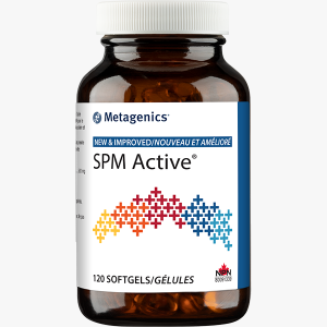 Metagenics SPM Active NEW & IMPROVED - 120 Softgels: InnerGood Canada