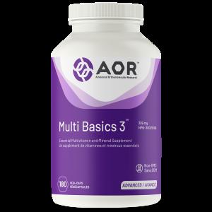 AOR Multi Basics 3® | 180 Vegi-Caps | InnerGood.ca | In Canada