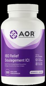 AOR IBD Relief   120 Vegi-Caps   InnerGood.ca   In Canada