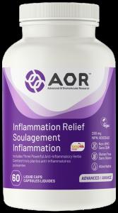 AOR Inflammation Relief | 60 Liquid Caps | InnerGood.ca | In Canada