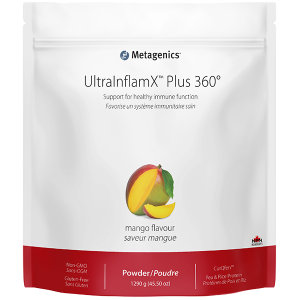 Metagenics UltraInflamX Plus 360 - Mango Flavour | Inner Good | Canada