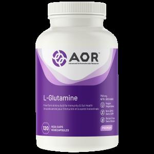 AOR L-Glutamine | 120 Vegi-Caps | InnerGood.ca | Canada