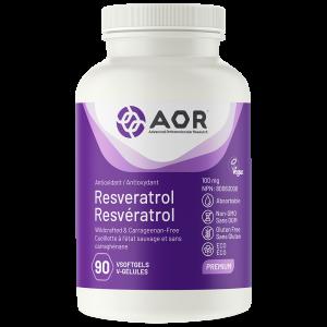 AOR Resveratrol | 90 VSoftgels | InnerGood.ca | Canada