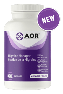 AOR Migraine Manager: Best Vitamin Supplement for Migraines?