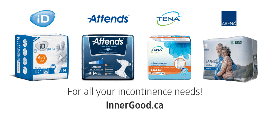 Adult Diapers in Canada | Incontinence Briefs - InnerGood.ca
