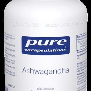 Pure Encapsulations Ashwagandha 120 Capsules Inner Good Canada