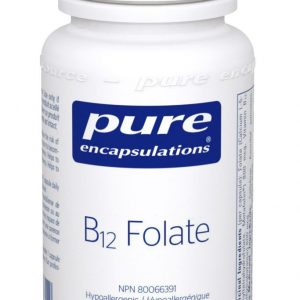 Pure Encapsulations B12 Folate | 60 Veg Caps | InnerGood.ca | Canada