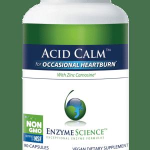 Enzyme Science™ Acid Calm™ | 90 Capsules | InnerGood.ca | Canada