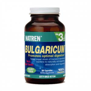 Natren BULGARICUM®   60 Capsules   InnerGood.ca   Canada