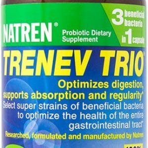 Natren TRENEV TRIO®   90 Capsules   InnerGood.ca   Canada