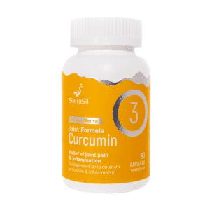 SierraSil Joint Formula Curcumin 3 | 90 Capsules | InnerGood.ca | Canada