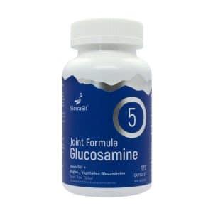 SierraSil Joint Formula Glucosamine 5 | 120 Caps | Inner Good | Canada
